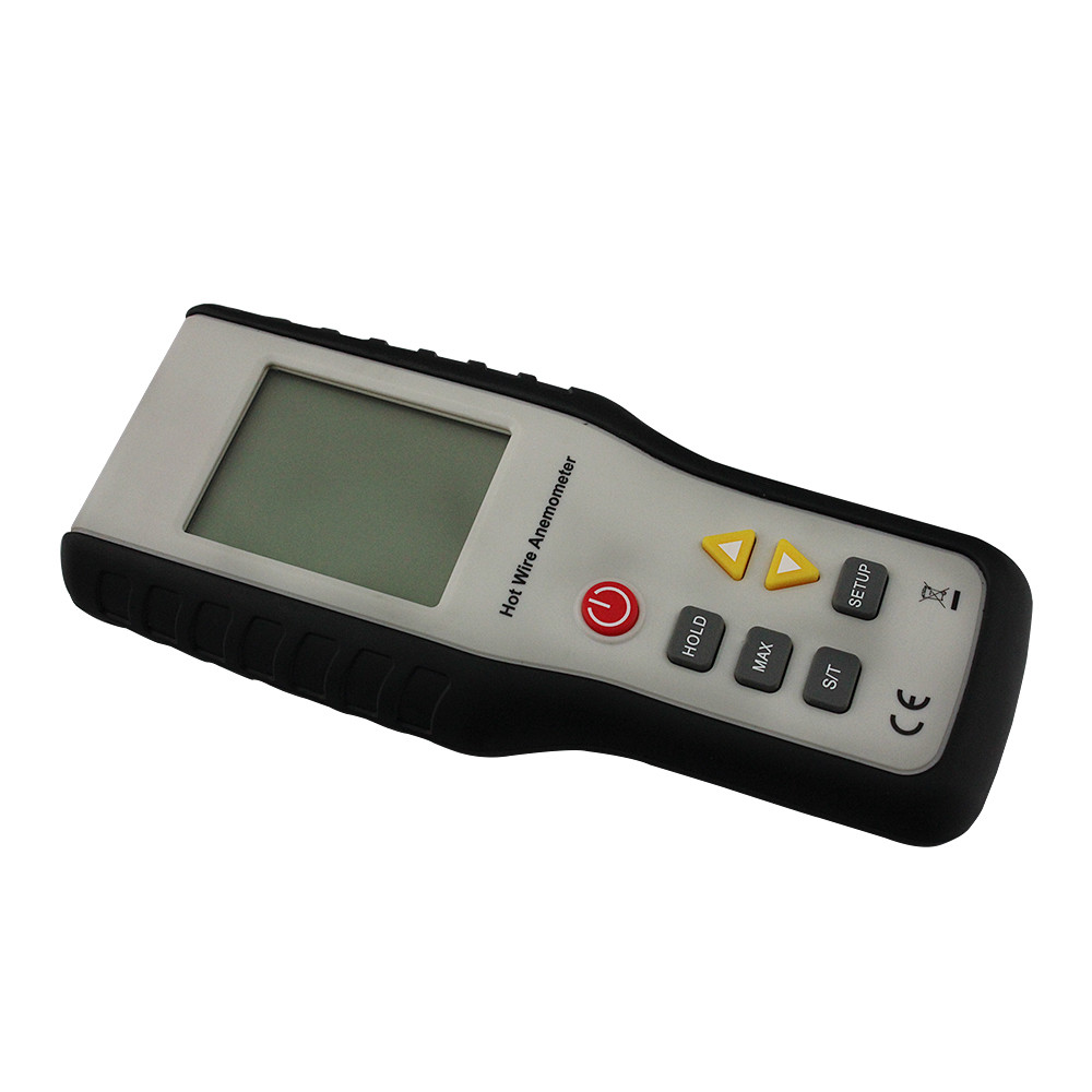 Digital Anemometer Air Wind Flow Meter Hot Wire Thermo Anemometer