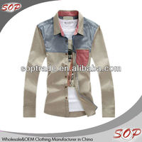 2013 new design mens casual boss shirts