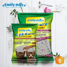 2014 Hot sale natural clumping scented bentonite clay cat litter