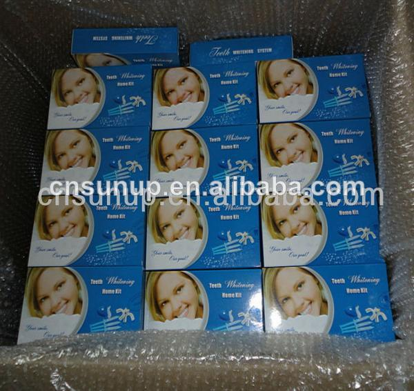 Private LOGO package teeth whitening kits, whitening teeth syringe kit