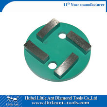 4'' Thick Segments Concrete Diamond Floor Grinding Removal Plate