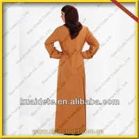 2016 Malaysia cotton jubah / abaya / long dress
