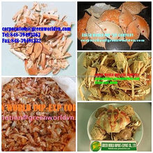 DRIED CRAB SHELL AND SHRIMP SHELL BEST QUALITY