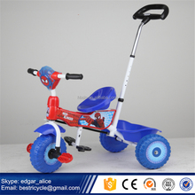 2017 New Model Spider Man Tricycle Kid