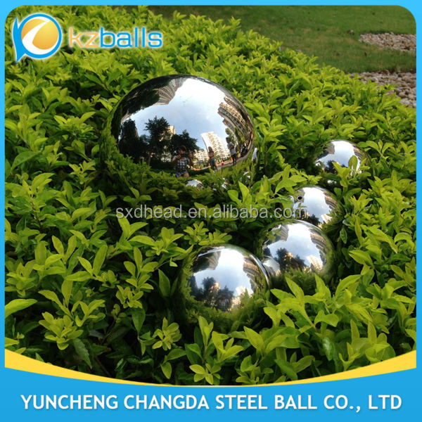 12 14 16 18 20 24 inch stainless steel gazing ball for vander graff generation