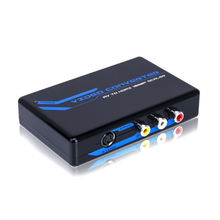 Composite AV analog to HDMI Video Converter box rca video booster