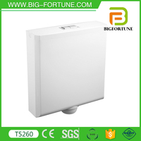 Wall Dual-Flush Feature toilet water tank for Bathroom WC