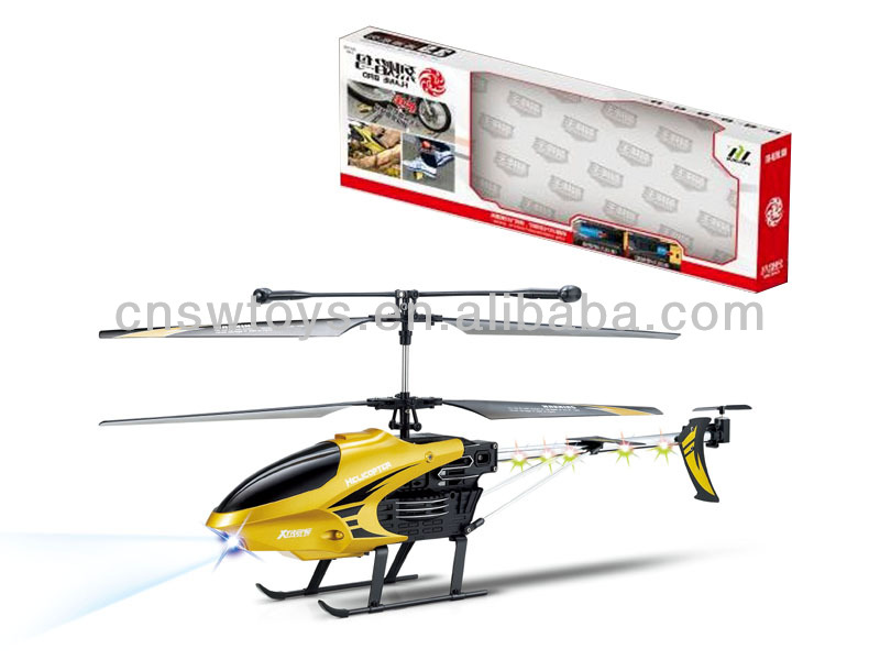 52CM Unbreakable Design! 3.5CH Medium RC Helicopter With Led Amazing Arrow
