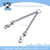 Hot selling pet accessories dog products two hooks dog leash