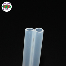 OEM clear silicon elastic rubber tube 4mm for peristaltic pump tubing 12v