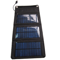 5W Foldable solar panel bag, Foldable solar charger bag, Foldable Solar power charger bag