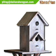 Handmade Outdoor Decorative Double Layer Bird House