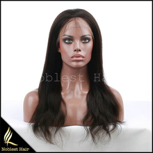 free shiping wholesale natural straight wigs full lace human hair wigs for black women 7A european virgin hair