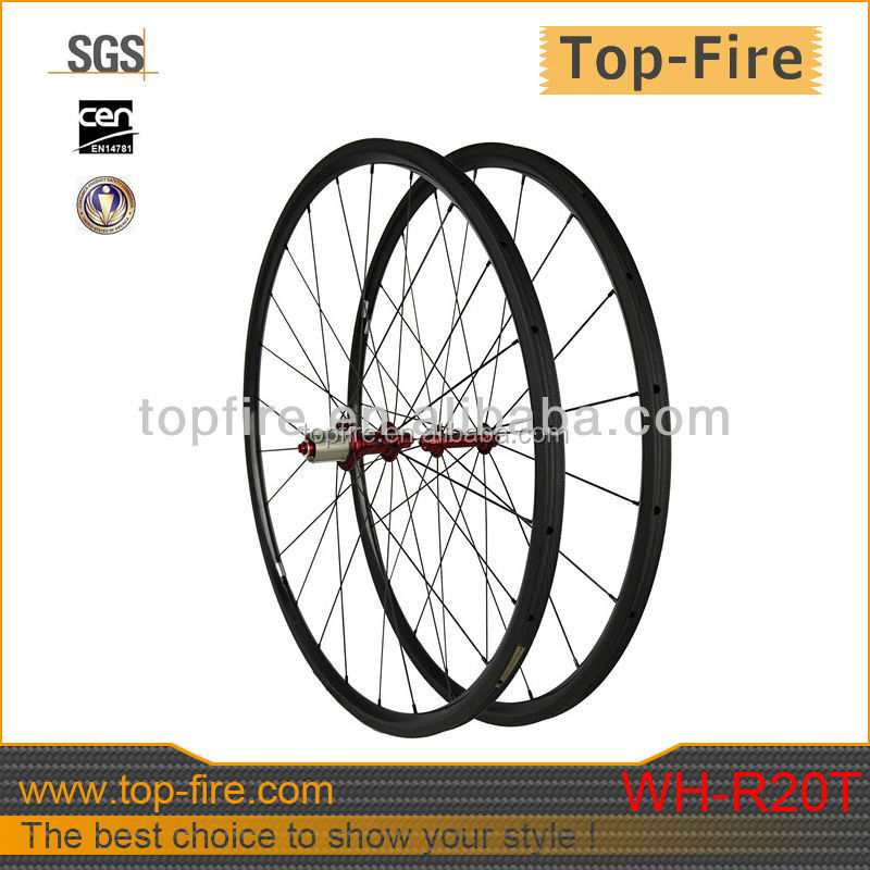 high quality 700C 20/ 38/ 50/ 60/ 88mm Clincher Tubular Road Bike Carbon Wheels 20mm/23mm/25mm Width Bicycle Wheelset WH-R20T