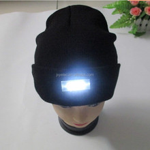 Cap With Led Lights/Fashion Winter Hat For Young Girls/led snapback caps