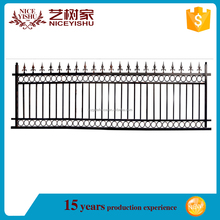 2017 hot sale Cheap used wrought iron fence panels