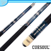CUESOUL High Quality 2015 New Fashionable 1/2 Pool Cue Maple Shaft,Quick Release