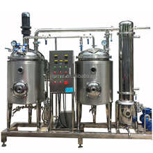 Stainless steel herbal plant root leaf flower ultrasonic extracts machine and concentration machine