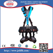 Luxury Full Body Harness with Shock Absorbing Lanyards