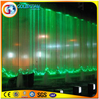 Brand new type digital waterfall/water curtain with high quality