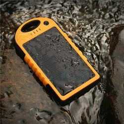 IPX6 Waterproof Solar charger 12000mAh Solar Power Bank