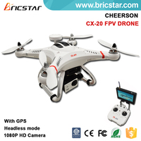 Newest Design CX-20 6axes gyro 4ch RC Quadcopter with GPS rc toy hobby