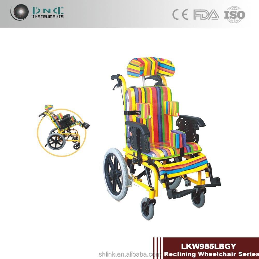 reclining wheelchair/adjustable height wheelchair