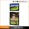 Edgelight Aliexpress China supplier home decoration led light box with CE UL ROHS