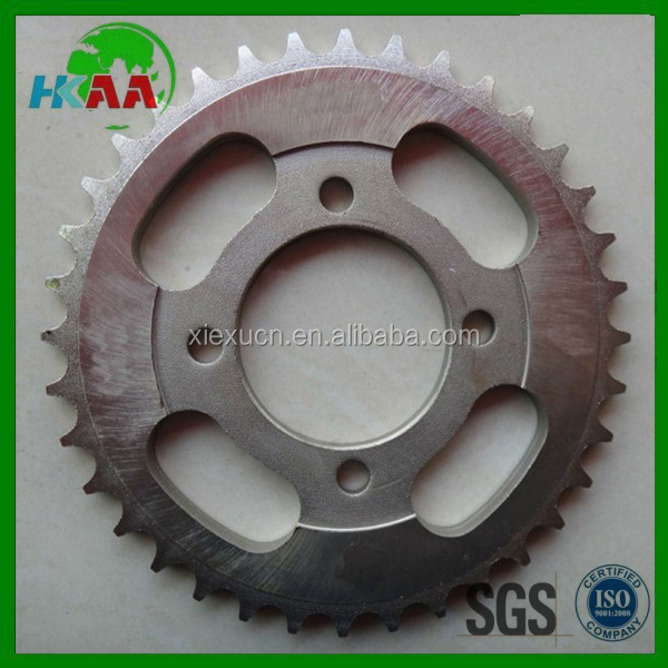 Professional manufacturer custom tvs motorcycle spare parts