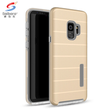 Shockproof Two In One TPU PC back case cover for samsung galaxy s9