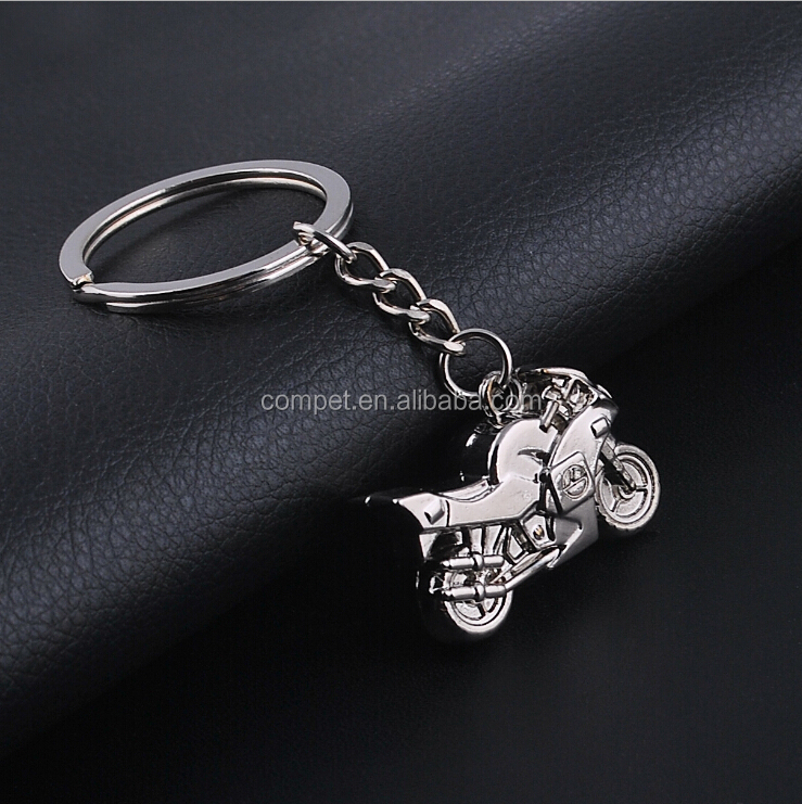 Creative personality simulation motorcycle Keychain car key chain motorcycle Keychain