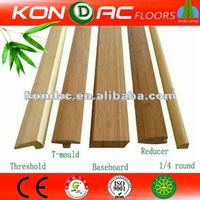 ecomax moso bamboo lumber T-molding bamboo bathroom accessories