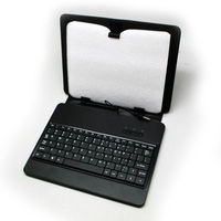 Black 10 inch Leather Keyboard Case