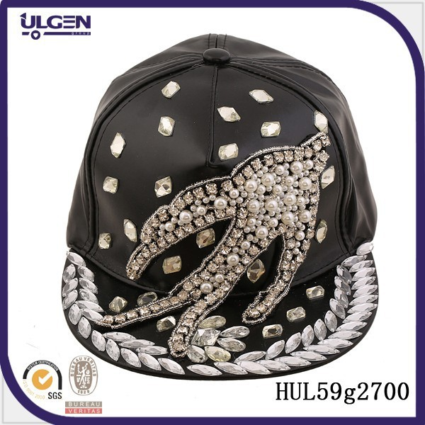 leather diamond hiphop hat military beret hats newsboy beret hat