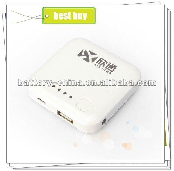 External Portable Power Bank, USB Mobile Charger 2600 mAh for iPhone Galaxy HTC BlackBerry Samsung Nokia Motorola...