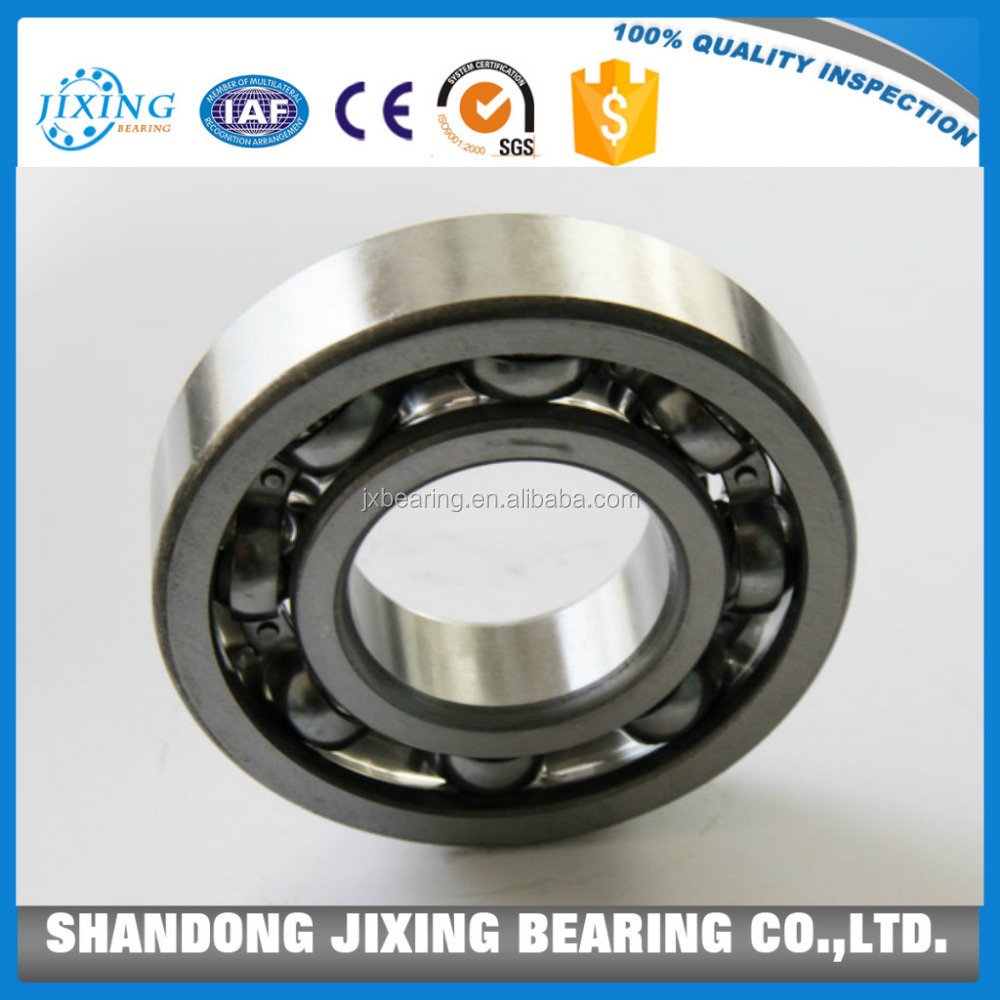 China Manufacturer 16006 Bearing and 16006 Deep Groove Ball Bearing with Size 30*55*9mm