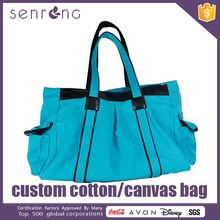 High Quality Canvas Beach Bag Organic Canvas Tote Bag Plain