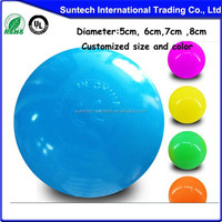 hollow crush proof plastic wholesale ball pit balls for kids