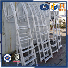 stainless steel swimming pool telescopic ladder steps