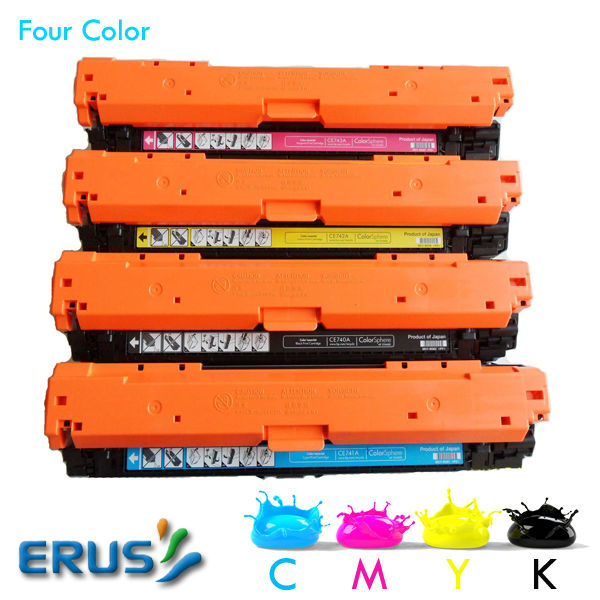For HP CE270A CE271A CE272A CE273A Color Toner Cartridge