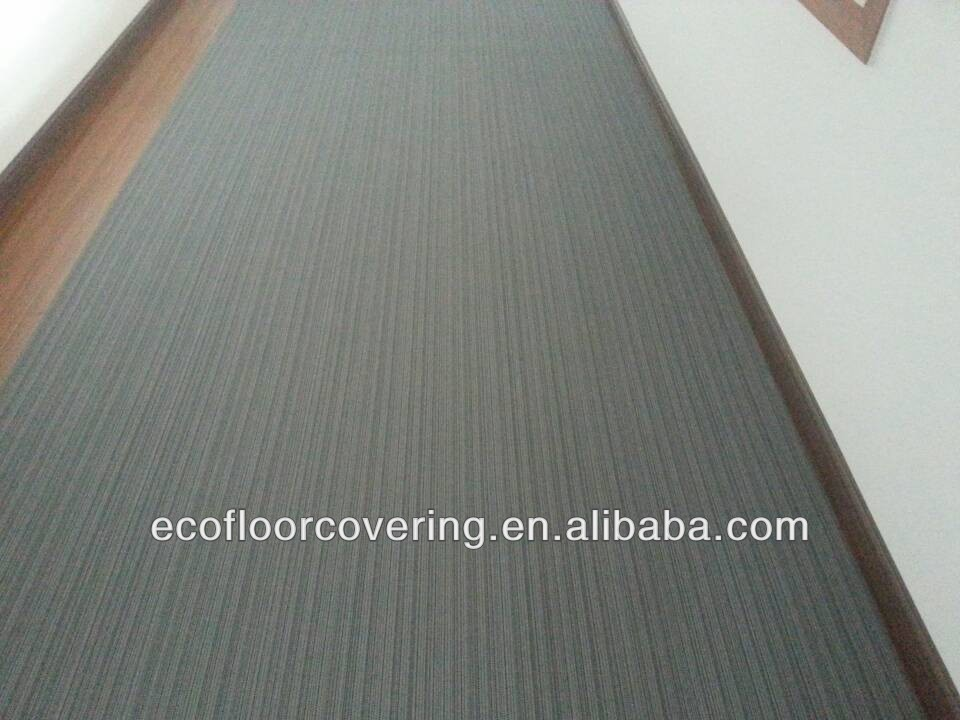 wall-to wall woven vinyl floor covering,water and oil proof