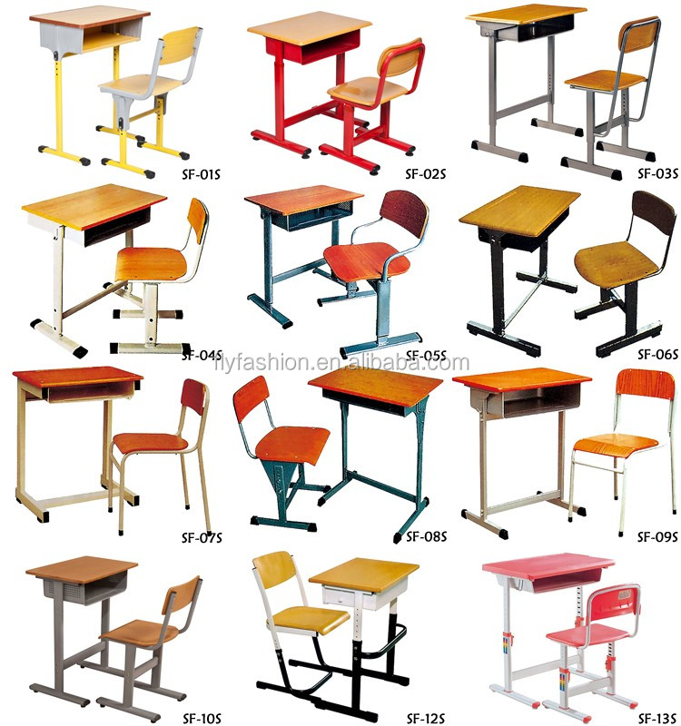 School students cheap children used table and chair for for Affordable furniture for college students
