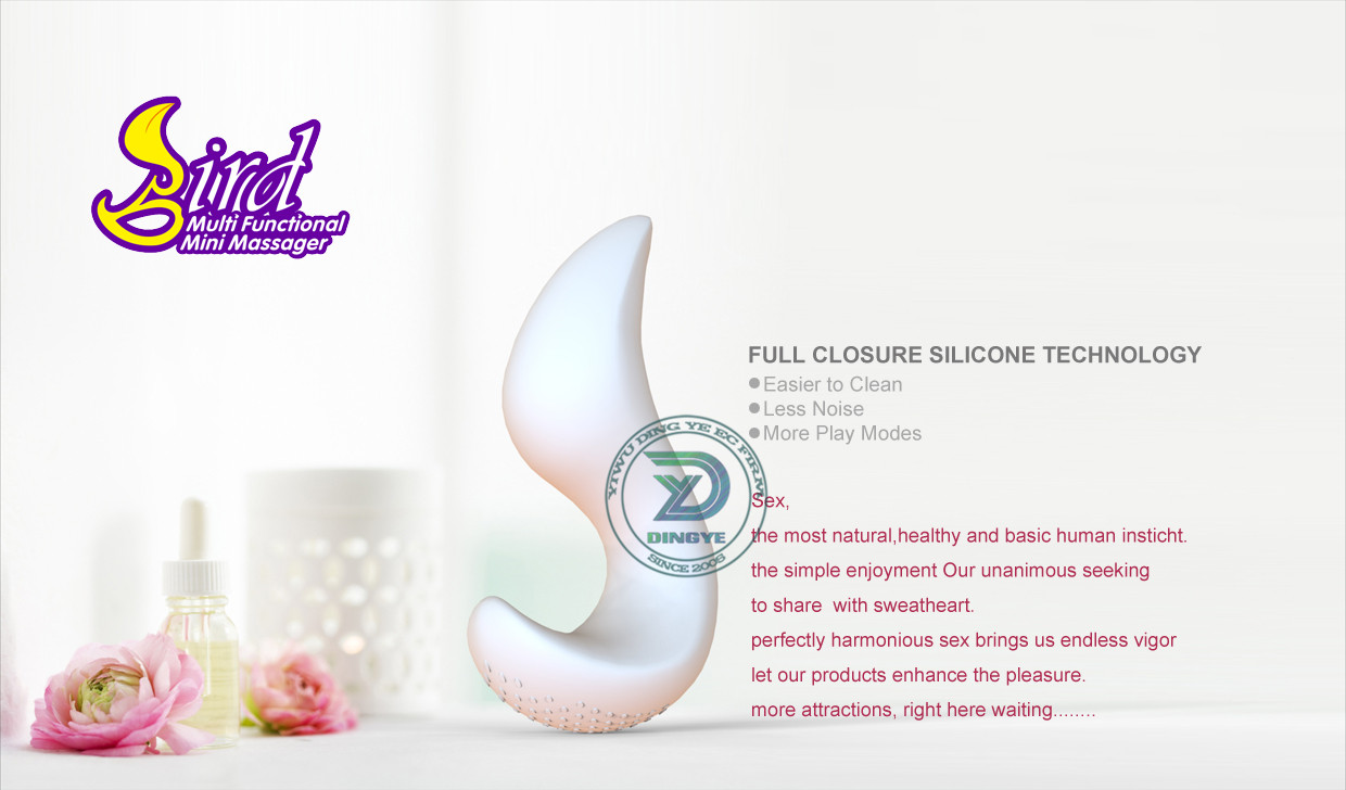 2014 New Rechargeable 30 Pattern Vibrating Silicone Dildo for Women