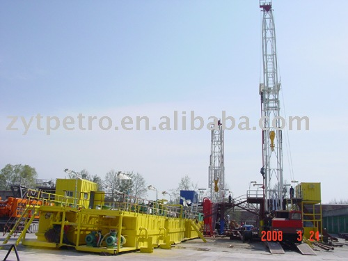 ZJ20 truck mounted drilling rig