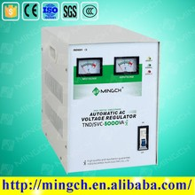 CE ROHS approved 5KVA vertical phase servo control avr automatic voltage regulator stabilizer