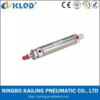 Mini air cylinder/SS standard pneumatic cylinders, stroke adjustable air cylinders, pneumatic components