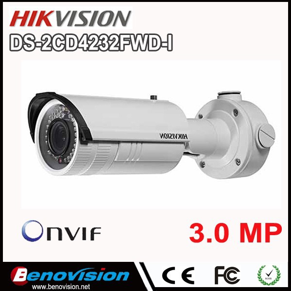 Hikvision IP Camera Outdoor 3 Megapixel DS-2CD4232FWD-I HIKVISION 3MP 2.8-12mm