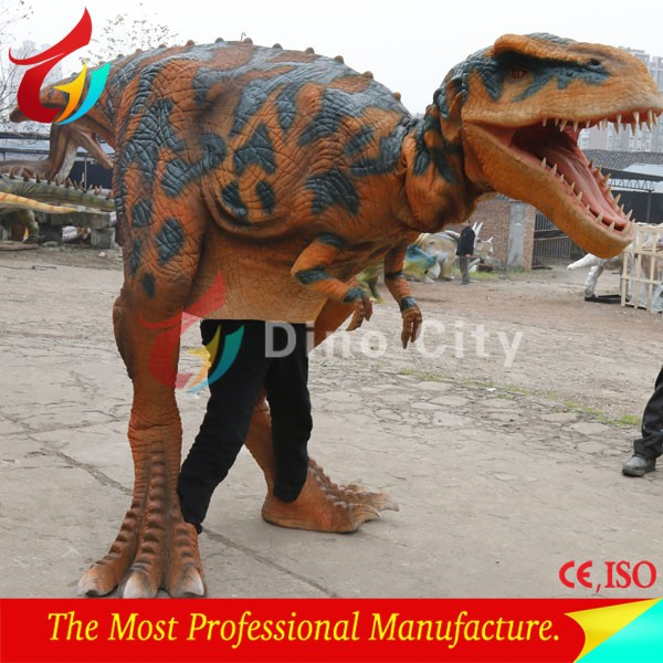 Life size BBC High Realistic Walking Dinosaur Costume T-rex