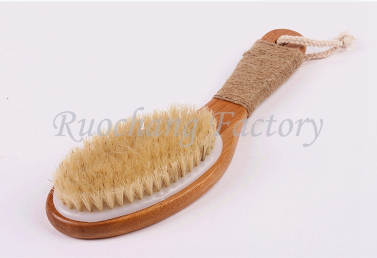 Wholesale Wooden Scrub Bristle Brush/lab brush professional maker