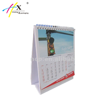 Custom Paper Table Calendar Office Desktop calendar in GuangZhou